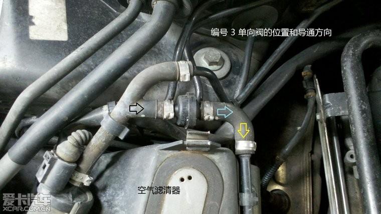 老宝来废气管单向阀分享展示图片