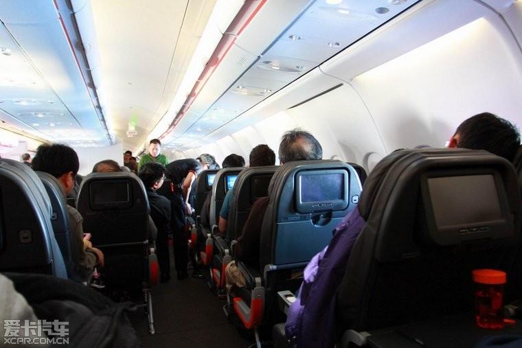 第一次坐jetstar的飞机