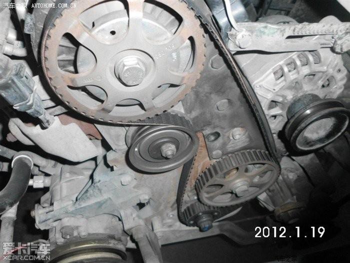 大年腊月26 diy 更换正时皮带 发电机皮带 空调皮带 版主能高清图片