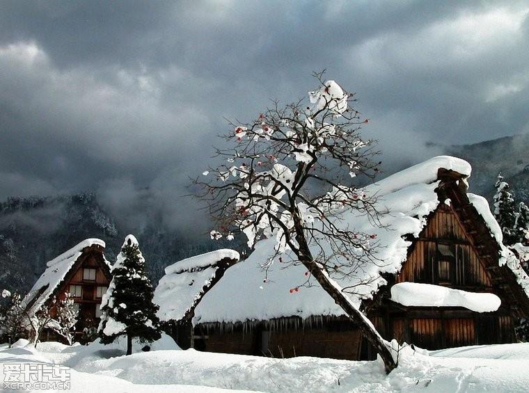 小学生手抄报雪景图