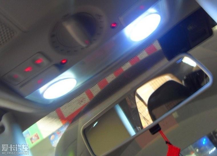 11款速腾超高亮贴片7锻led行车灯日行灯 原装位正品超亮led示宽灯led高清图片