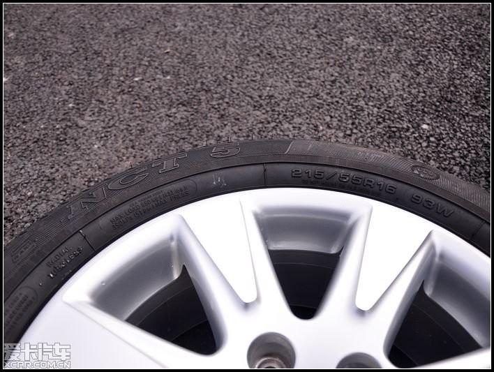 出原车09款迈腾7幅轮毂+轮胎(已跑1万3千公里