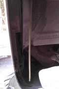 DIY更换右后轮叶子板内衬作业及其背后的发现_顺便请教关于后刹车片厚度问题