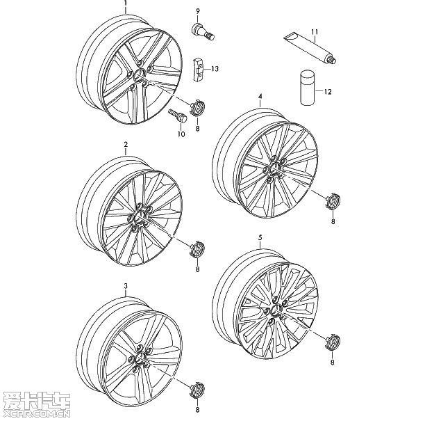 手绘版的轮胎 图片