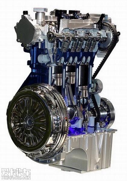 福特1.0T发动机高清图片