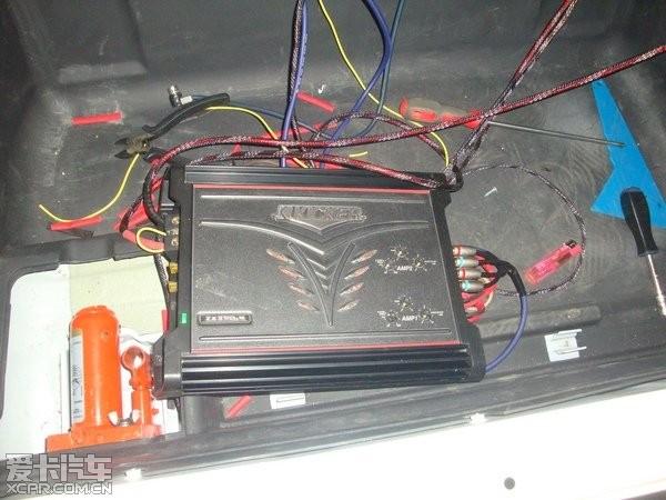 三菱帕杰罗音响升级改装kicker音响高清图片