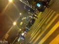 昨天晚上滨江东路的半豪车车祸!!!!