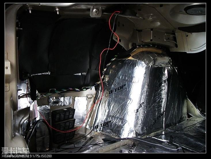 兰州汽车音响改装 307高清图片