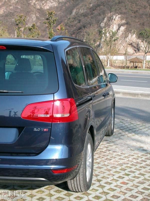 月夜蓝乞丐夏朗提车,说说夏朗这车的真实情况 持续更新高清图片