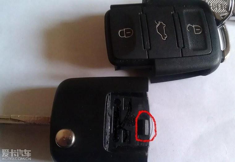 遥控钥匙结构及拆解,电池