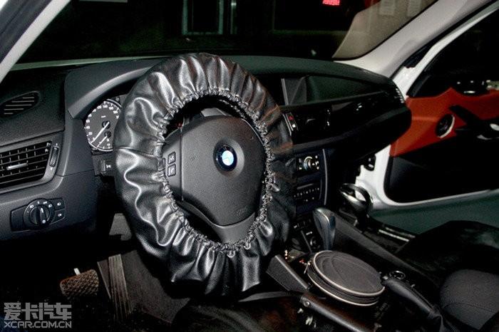 泉州专业汽车音响改装 宝马X1无损音响改装案例分享高清图片