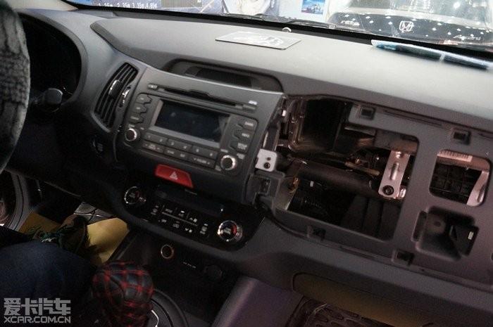 天津安装起亚智跑卡仕达专用导航 起亚智跑安装专车专用导航流程图解