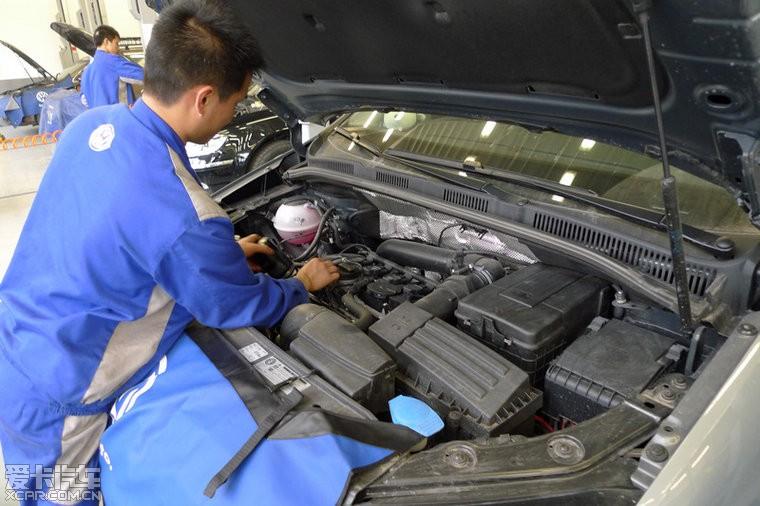 夏朗底盘 6400公里首保作业 夏朗论坛 xcar 爱卡汽车俱乐部高清图片