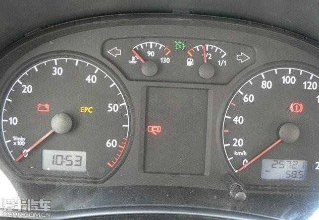 汽车仪表盘图标图解 307汽车仪表盘