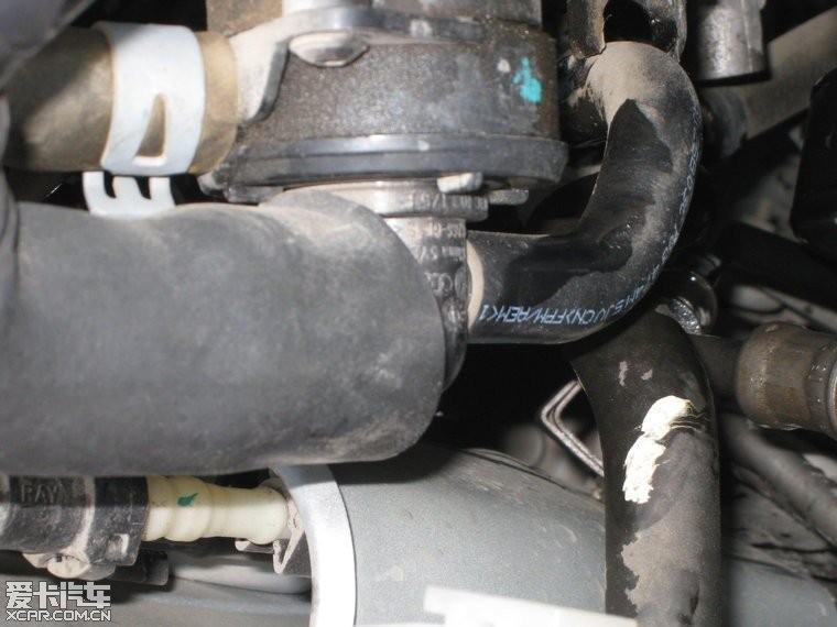 浅谈大众1.6 16v发动机废气阀的原理及保养图片