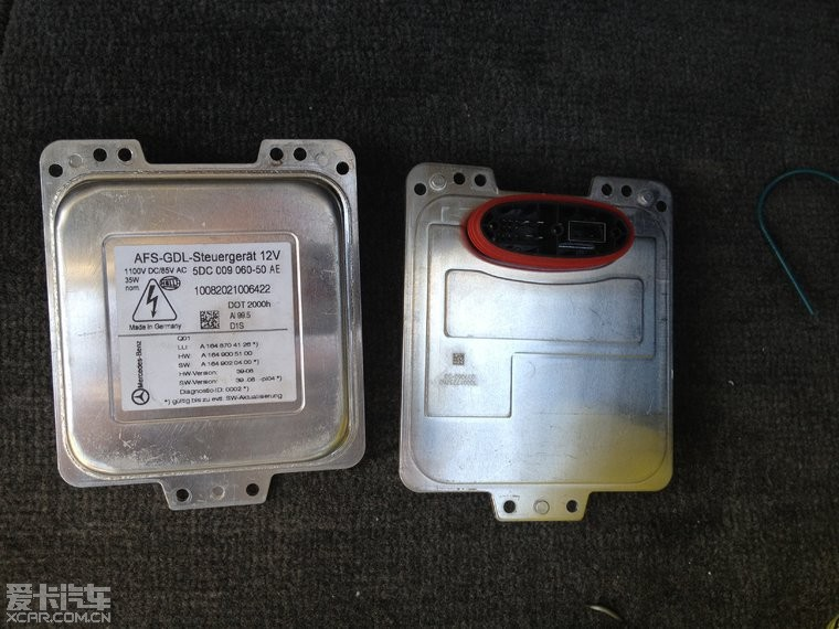 2011款伙伴,想改Q5透镜的氙气灯,奔驰的高压包可以用么 这...