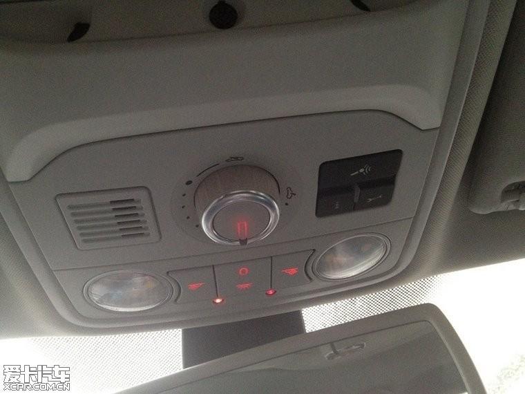 汽车功能键图片图片; 新迈腾天窗旋钮没有背光,夜晚很不方便_爱卡汽车