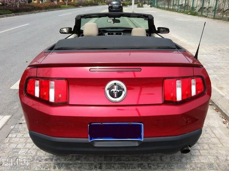 海出售10年 福特野马肌肉型 敞篷跑车 二手高清图片