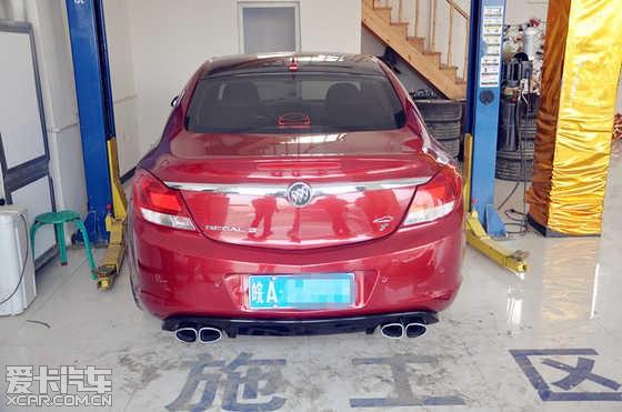 汽车改装排气是不是直接换排气鼓就是跑车声浪呢高清图片