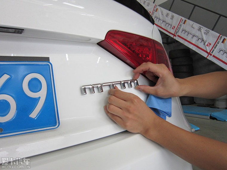 3.0T的四出S5换MTM奥迪外挂和MTM排气灯泡比亚迪11款l3前大灯电脑图片