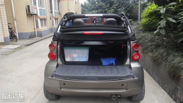 标题 09年出厂 09上户的奔驰smart敞篷版 有没有想收留的高清图片