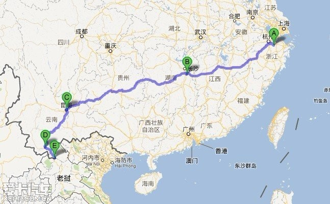 22天10000公里老挝,泰国