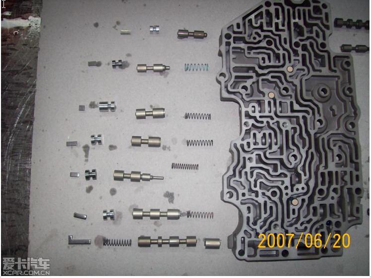 汽车 变速箱/09G变速箱结构原理换挡流程,了解变速箱工作