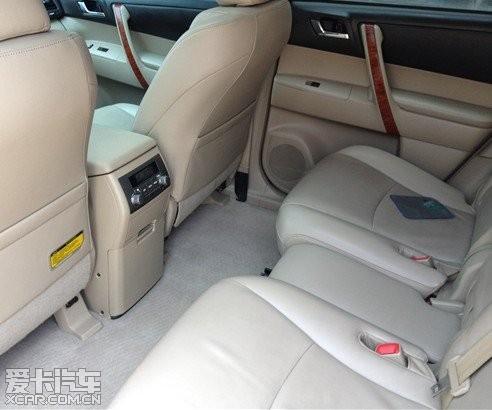 丰田汉兰达2.7顶配高清图片