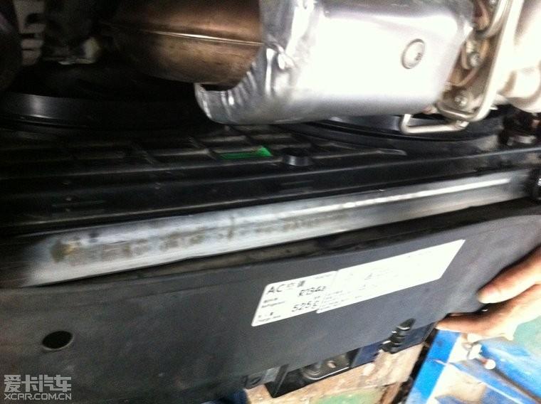 4t加大水箱跟油冷器图片