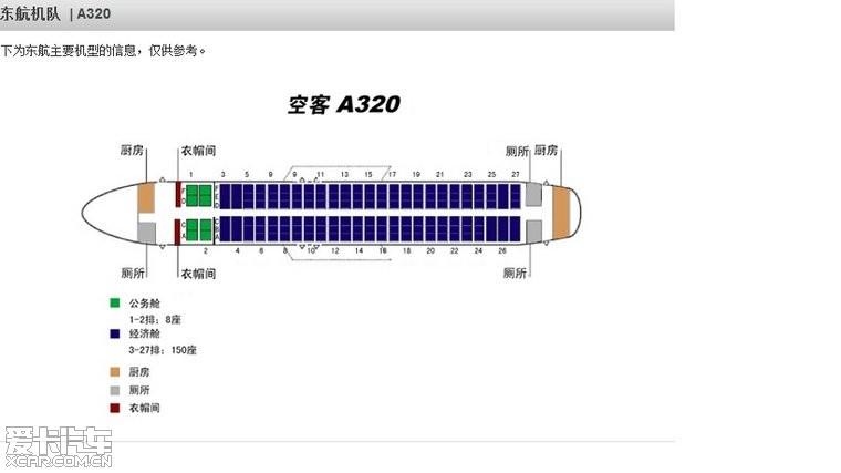 东航空客330座位图 东航空客320座位图 东航空客a320座位图