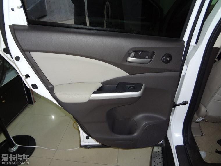 新CRV汽车音响改装