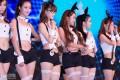 Chinajoy游戏展美女模特及cosplay靓图,多图杀猫