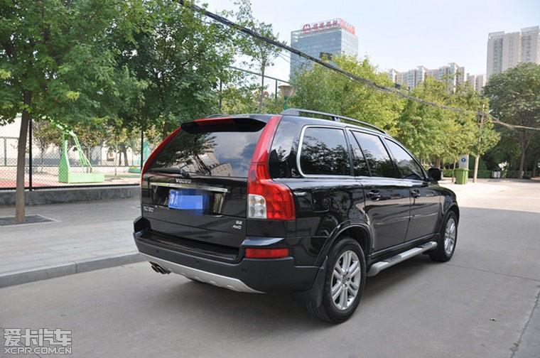 河南 郑州 xc90沃尔沃越野车 3.2排量 二高清图片