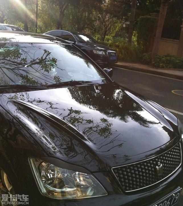 出售12代皇冠改装发动机盖高清图片