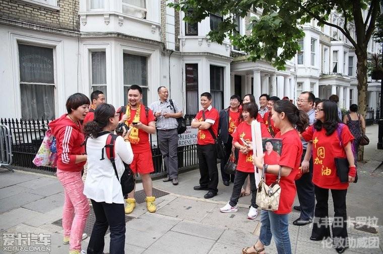 中国人在英国牛了!美景、美女、内涵照 带你品