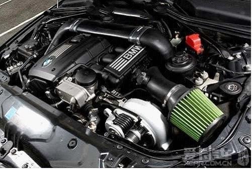 BMW 528i改装机械增压