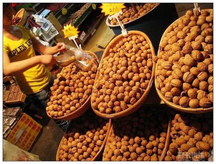 夜色下的美食西安美食街-爱卡吃坛-吃喝F回民荆州区图片