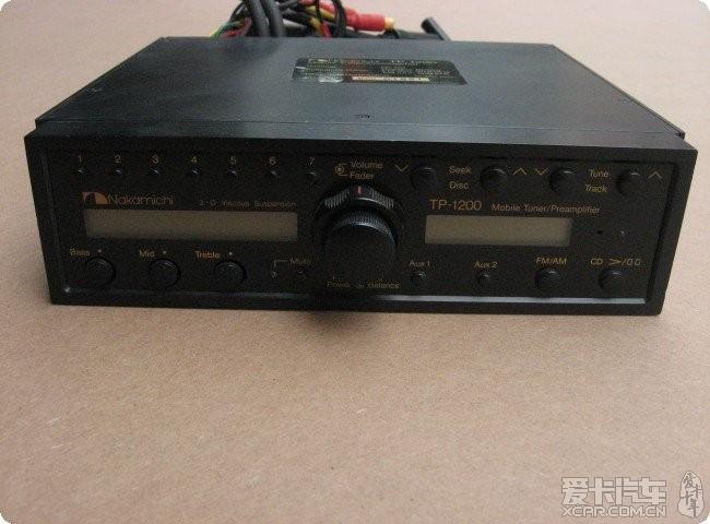 奥迪 q5升级中道 tp 1200cd主机 音高清图片