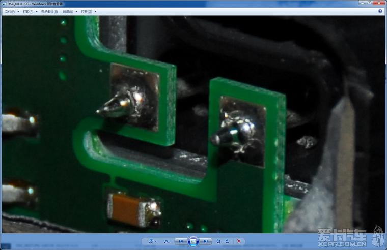 帕萨特abs灯偶然亮起, 电路虚焊 修理一则 帕高清图片