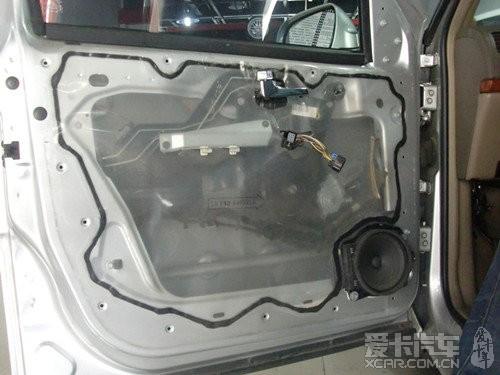 别克 GL8 音响改装 曼斯特 金凤凰汽车音响升级高清图片