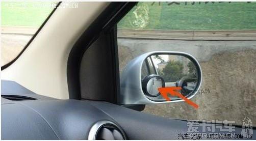 车外小圆镜之安装