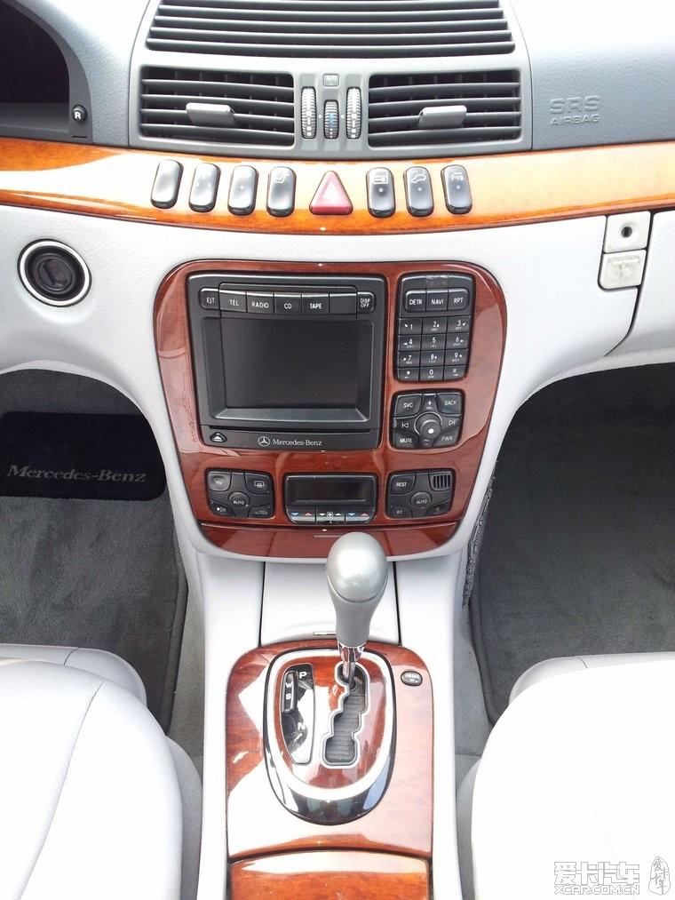 已售 奔驰S430,正规手续,车况一流,一滴油都不漏,难得好车