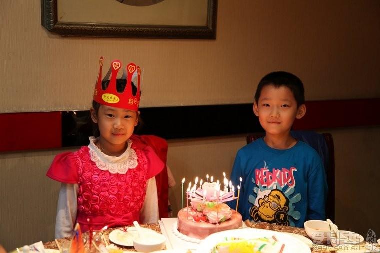 黑龙江 爱心/吃生日蛋糕是最开心快乐的事
