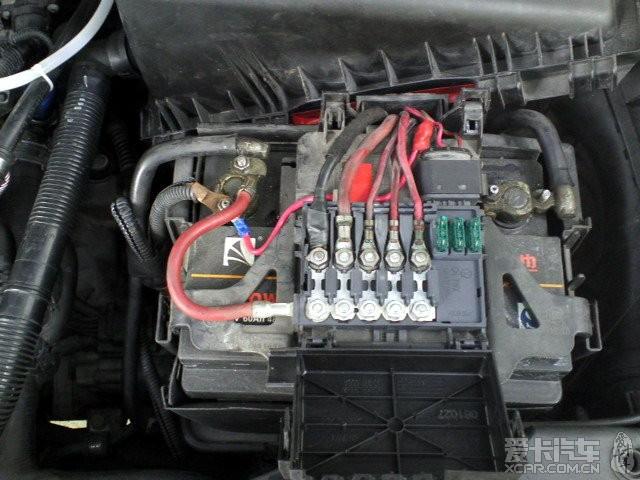 奇瑞qq3保险丝盒图解 奇瑞汽车保险丝盒图解 奇瑞风云保险丝盒高清图片