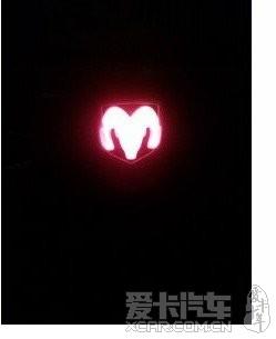 红灯道奇标志 道奇论坛 xcar 爱卡汽车俱乐部高清图片