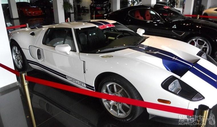 超酷 上海出台 福特GT40 限量版 5.4L 白色