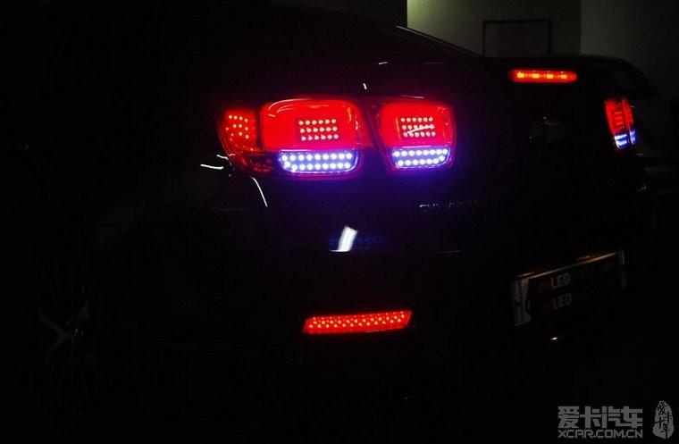 雪弗兰 迈瑞宝尾灯led灯改装 迈锐宝论坛 xcar 爱卡汽车俱高清图片