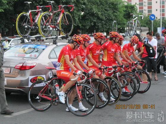 2012海南环岛自行车大赛.