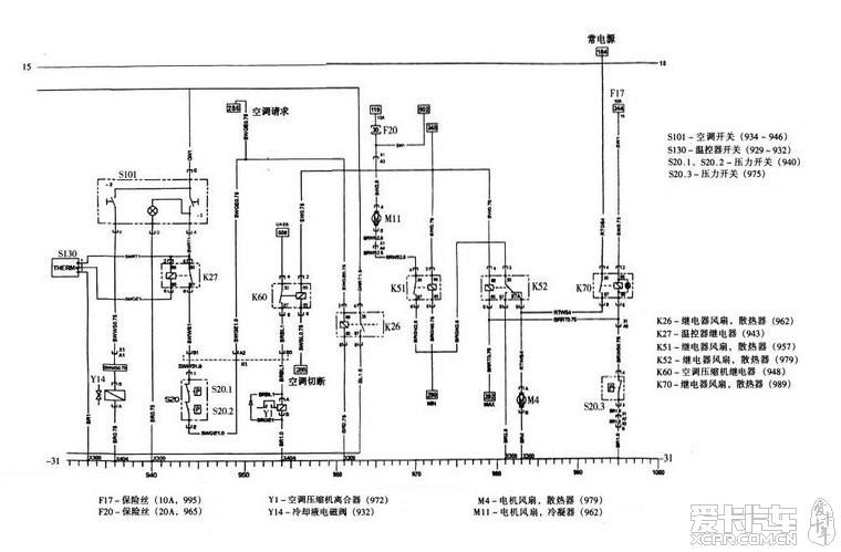 老赛欧的风扇继电器咨询_爱卡汽车