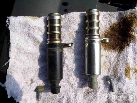 我车我修我快乐--之四,解决凸轮轴进出气电磁阀故障图片